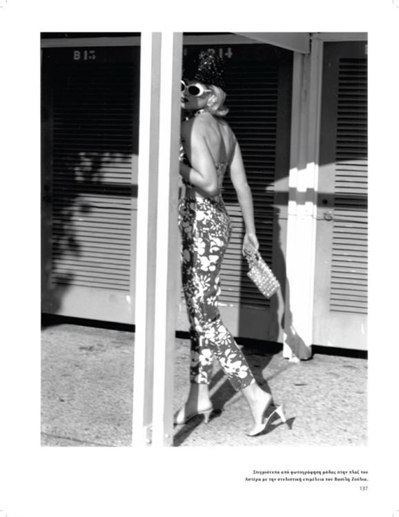 Στιγμιότυπα από φωτογράφηση μόδας στην πλαζ του Αστέρα με την στυλιστική επιμέλεια του Βασίλη Ζούλια