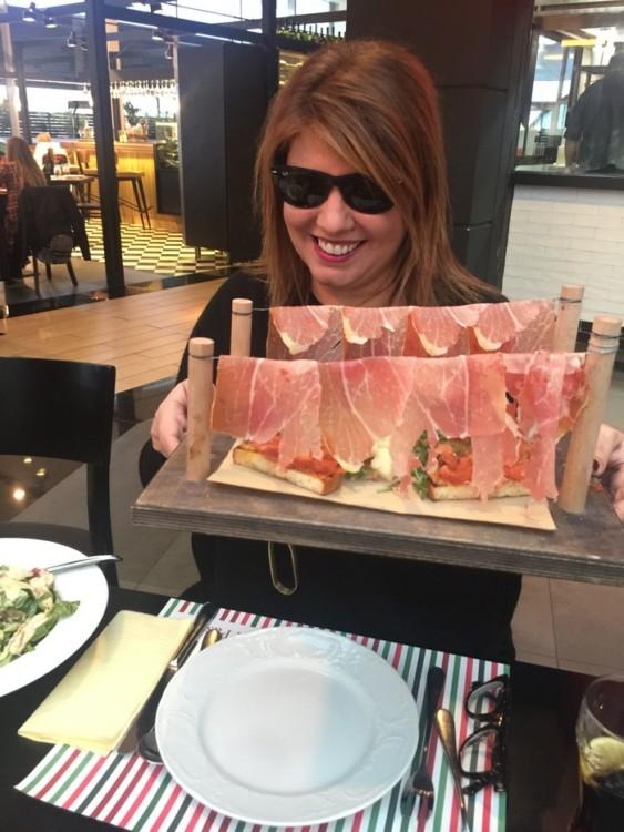 Parmigiano e Prosciutto di Parma...
