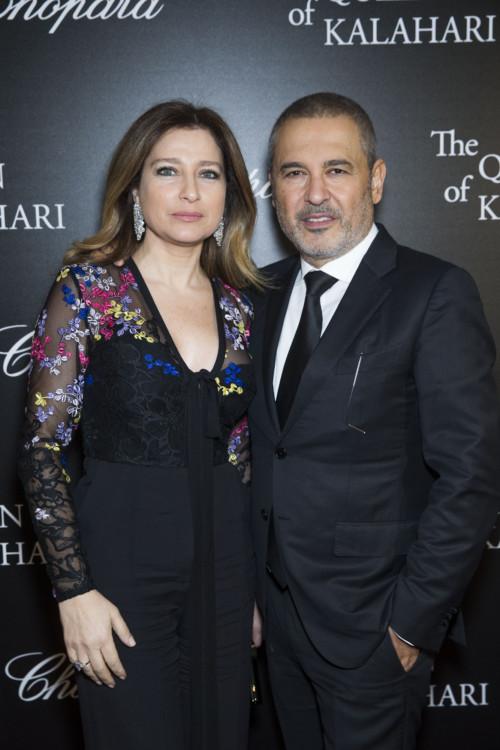 Claudine & Elie Saab