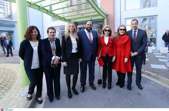 Βαγγέλης Μαρινάκης, Κα Μαριάννα Βαρδινογιάννη, Ειρήνη Νταϊφά, Εμμανουήλ Παπασάββας