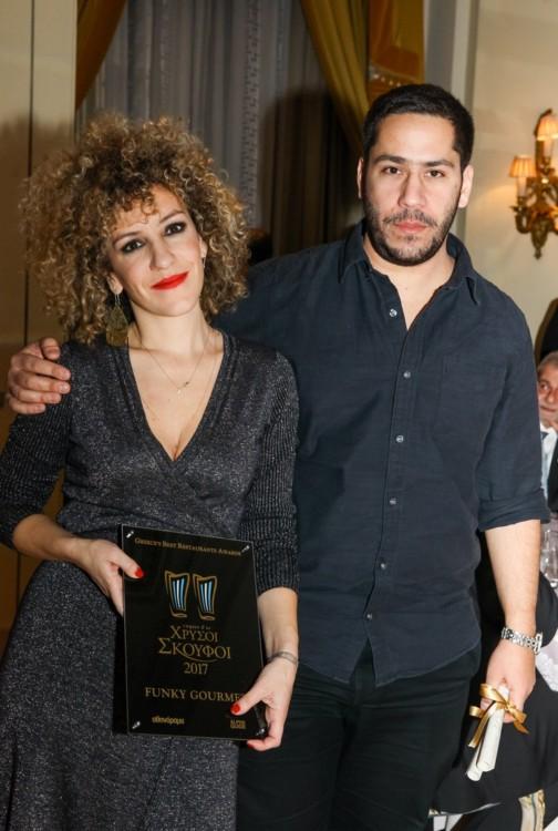Γεωργιάννα Χιλιαδάκη, Νίκος Ρούσσος για μια ακόμη φορά στην κορυφή με δύο Χρυσούς Σκούφους για το «Funky Gourmet».