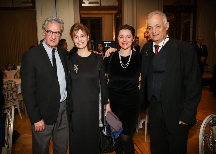 Ο Σπύρος Λυκούδης (βουλευτής «Το Ποτάμι») με την διευθύντρια του ΕΜΣΤ Κατερίνα Κοσκινά, την Τάνια Σιμοπούλου και τον διευθύνοντα σύμβουλο της ΕΡΤ Λάμπη Ταγματάρχη