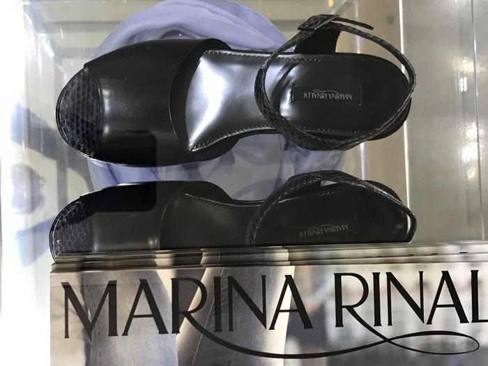 Στην boutique Marina Rinaldi...