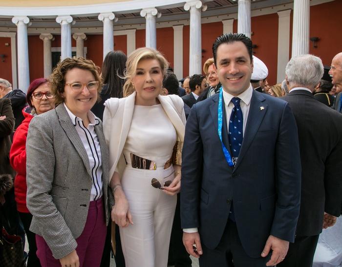 Μary Pyatt, σύζυγος Αμερικανού Πρέσβυ, Μαριάννα Β. Βαρδινογιάννη, David Evangelista, Πρόεδρος και Διευθύνων Σύμβουλος των Special Olympics Europe-Eurasia