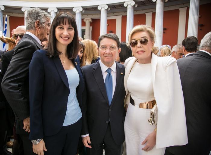 Έλενα Κουντουρά, Υπουργός Τουρισμού, Taleb Rifai, Γενικός Γραμματέας Παγκόσμιου Οργανισμού Τουρισμού, Μαριάννα Β. Βαρδινογιάννη