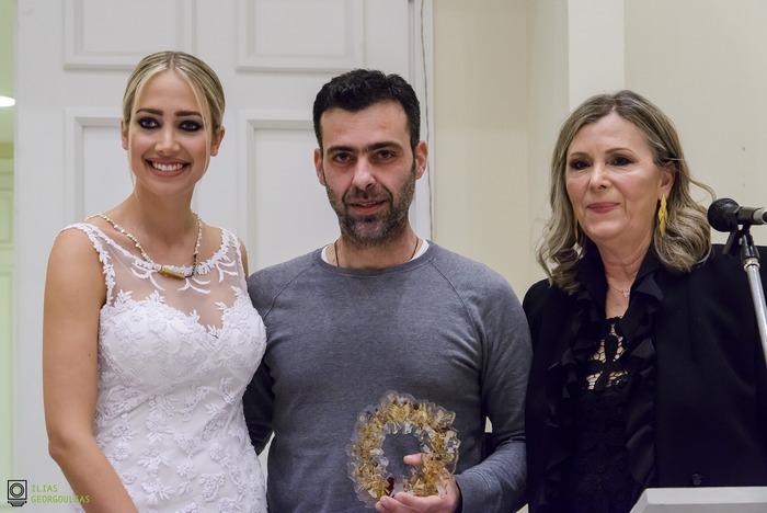 Κατερίνα Ευαγγελινού, Δημήτρης Μπαρνιάς, Μαίρη Σαμόλη