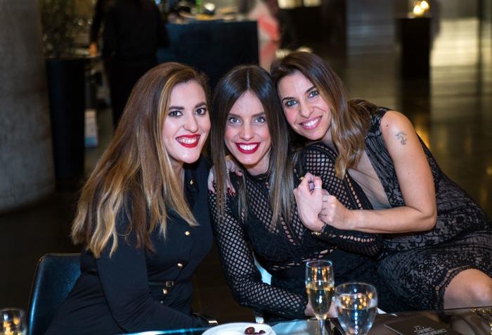 Τζοβάννα Βλαχάβα, Χρύσα Ανδριοπούλου, Έλια Κεντρωτά PR & Communications Manager MAC Greece & Balkans
