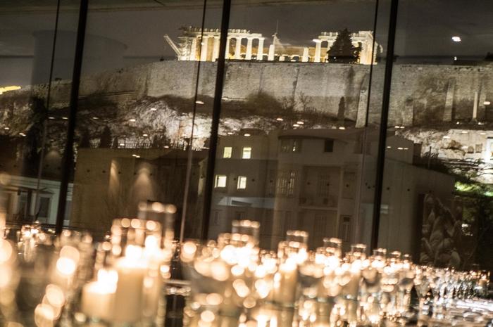 Η θέα της Ακρόπολης ήταν μαγευτική.