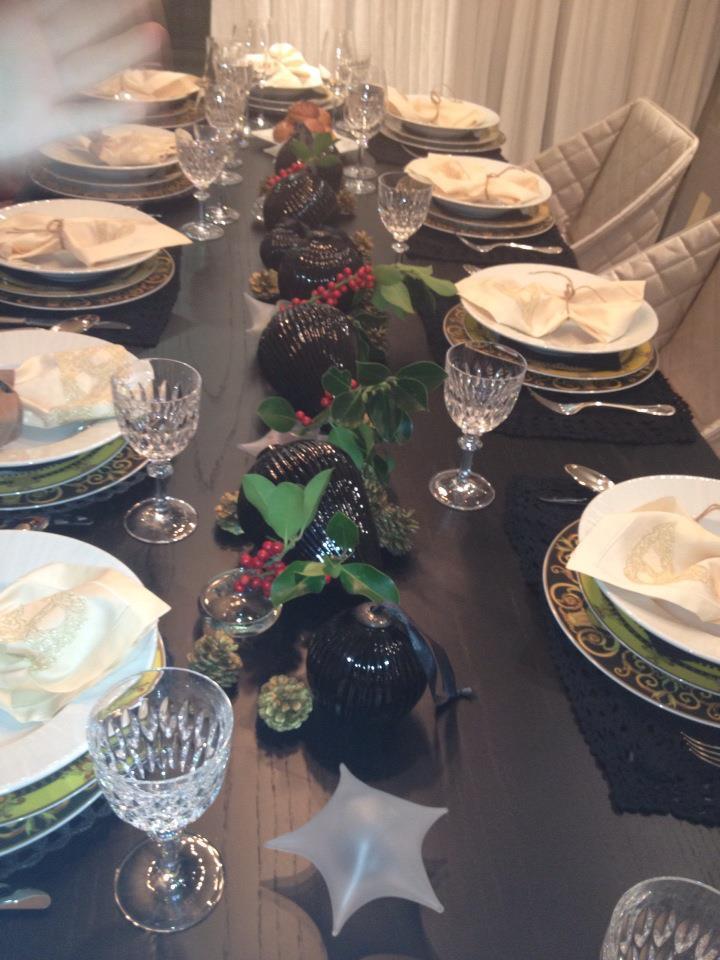 xmas Art de la table από την Μαρίλη Τσακίρη Γιαννάκου