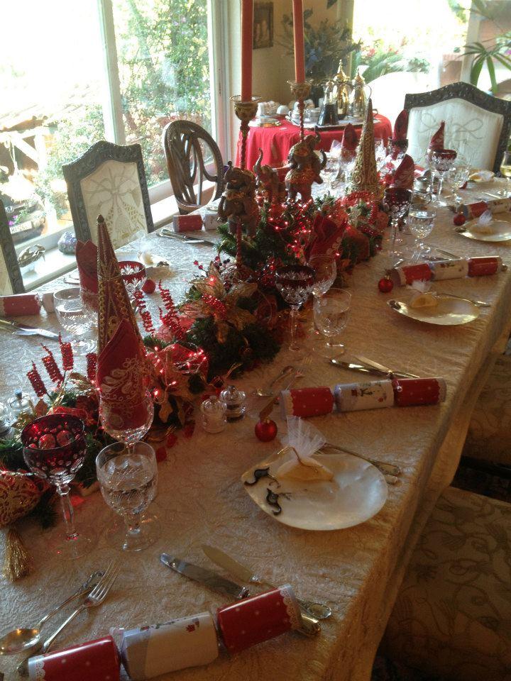 Το Χριστουγεννιάτικο τραπέζι της Σαμάνθας Αποστολοπούλου