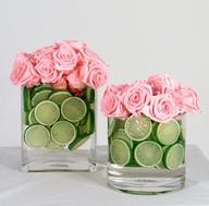 Συνθέσεις με lime και τριαντάφυλλα