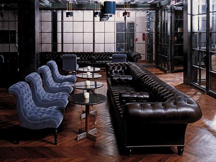 Ένα από τα σαλόνια του Soho House