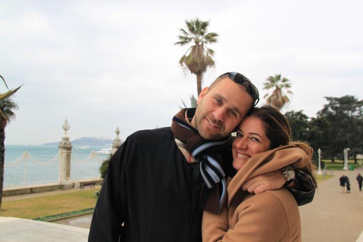 'Ενα από τα ομορφότερα ζευγάρια της Αθήνας, Γιάννης και Σαλώμη Φλουτάκου