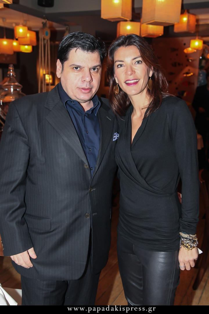 Δημήτρης Λυμπερόπουλος και Μαρίνα Βερνίκου. Καλά, για την σχέση μου με την Μαρίνα σας έχω πει πολλά. Ο Δημήτρης είναι ο πιο αγαπημένος μου συνάδελφος από όλους. Λατρεύω την πένα του, λατρεύω τον ίδιο