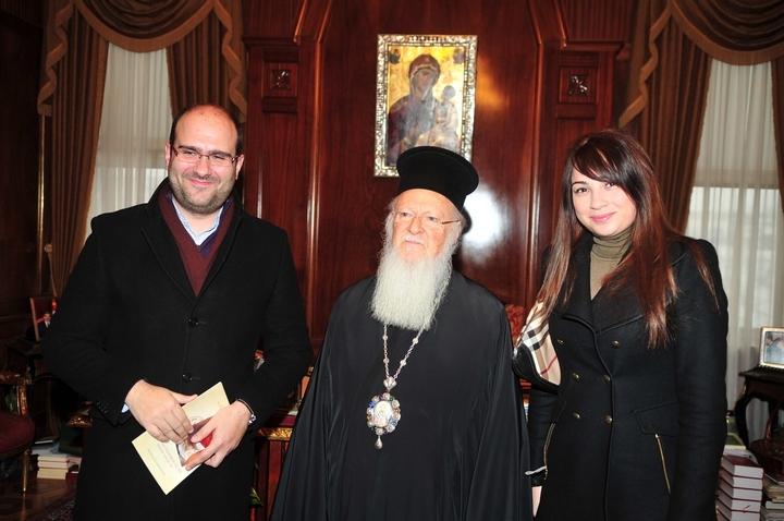 Ο Δημήτρης Μαρκόπουλος, ο Οικουμενικός Πατριάρχης και η Δέσποινα Μαγγανάρη