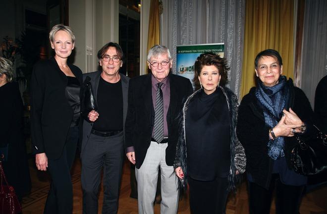 Νίκι Σόμερς, Πίτερ Οικονομίδης, Γιάννης Ευστασιάδης, Άννη Ηλιοπούλου, Νίκη Ευστασιάδη