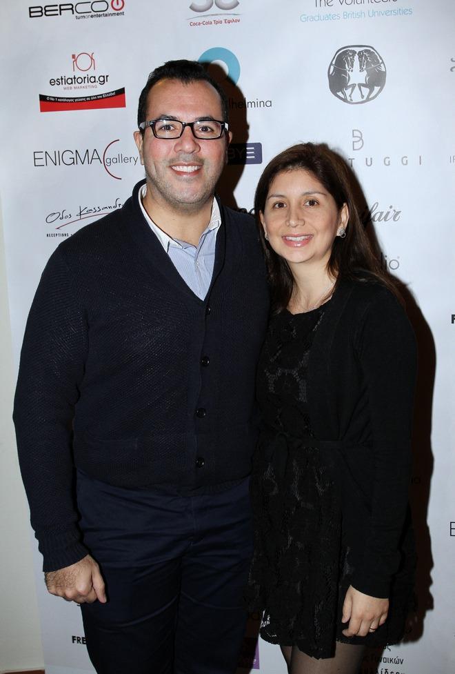 Ο Πρέσβης του Καναδά και η σύζυγος του, Aymard και Sabrina Jimerez
