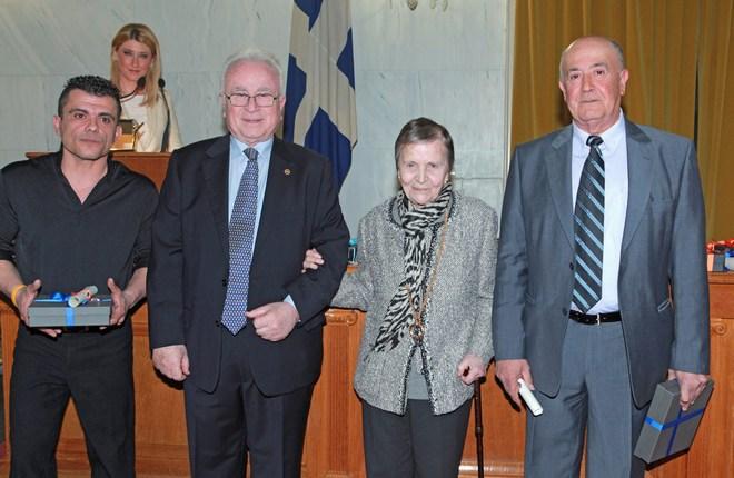 Παναγιώτης Μιχαήλ, Χρήστος Μπαρτσόκας, Ελένη Αρβελέρ, Φίλιππος Ολυμπίτης