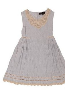 Blue striped cotton dress, Twin-Set Girl, 145 ευρώ