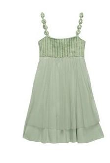 light green φόρεμα της twin-set girl, από 135 ευρώ, 66,50 ευρώ