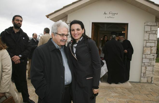 Μίμης Ανδρουλάκης, Όλγα Κεφαλογιάννη