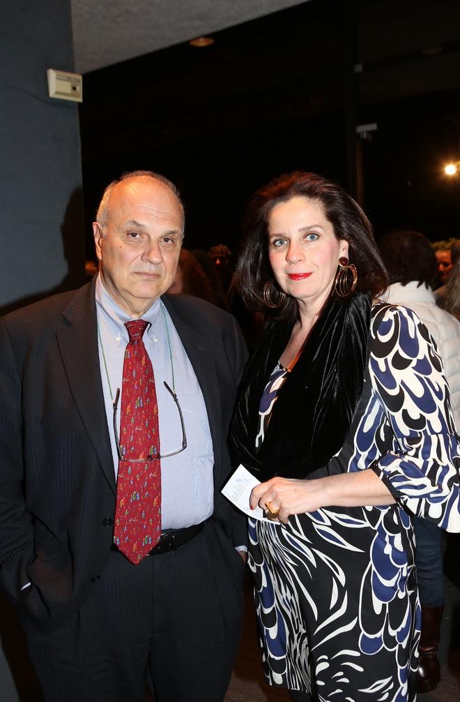 Ο President του Κολλεγίου και η σύζυγος του,Σπύρος και Τατιάνα Πολλάλη