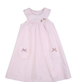 Pale Rose Cotton dress, Tartine et Chocotal, 96 ευρώ