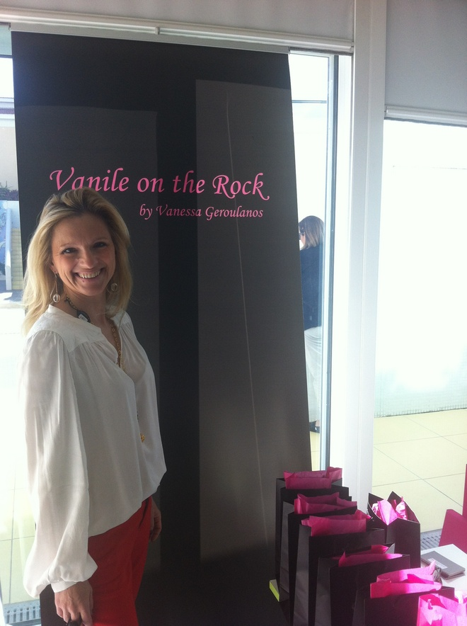 Vanile on the Rock by Vanessa Geroulanos!