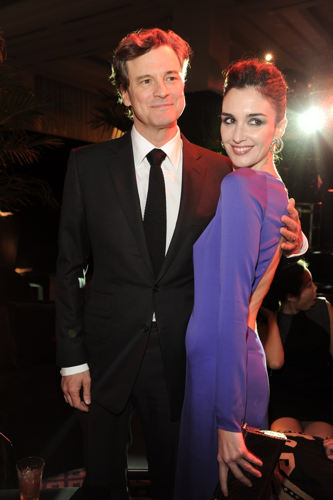 Colin Firth, Paz Vega