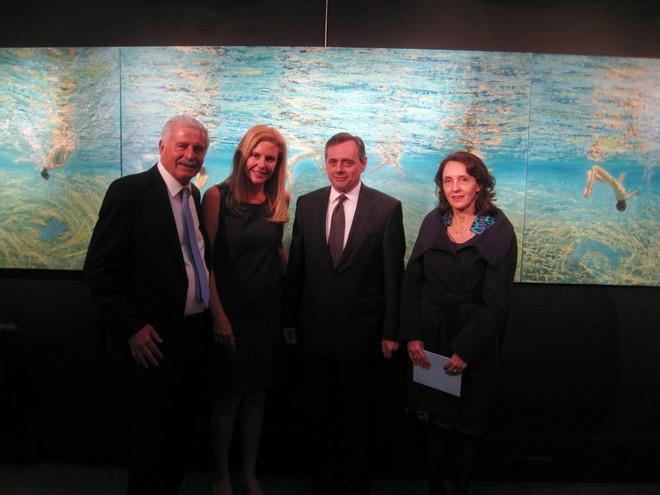 Γιώργος Σταθόπουλος, Μαρία Φιλοπούλου, ο Ambassador Mr. Constantine Bikes και η σύζυγος του