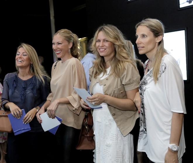Μαρίλια Βαζαίου, Μπάρμπαρα Δανελιάν Μπέη, Νάνσυ Ιωαννίδη, Βίκυ Τριγώνη