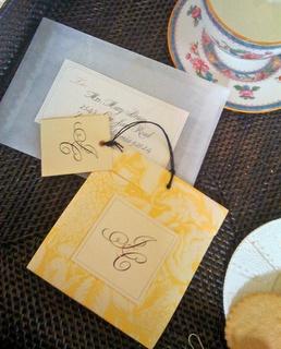 Προσκαλέστε με tea bags!