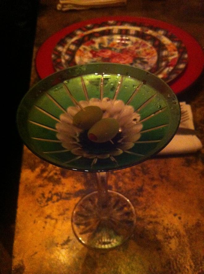 Προσφέρετε Dirty Vodka Martini!