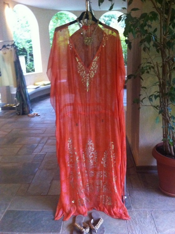 This garment has been created using the finest fabrics! All bead work & ornamentation is done by hand...