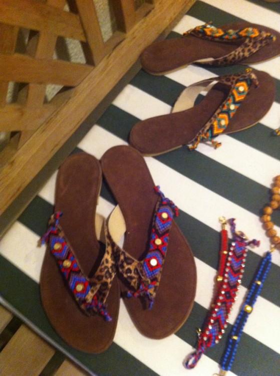 Τα σανδάλια της Gesinee Goetz