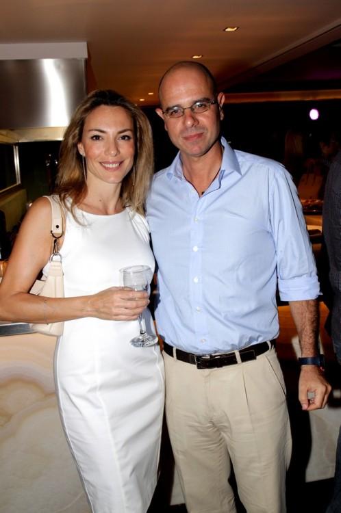 Ντένη και Αλέξης Στεφανάκης