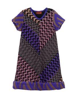 Girls short sleeve dress with mohair trims, από 435 ευρώ, 174 ευρώ