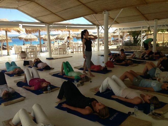 "Pilates & Yoga στο ""Καϊκι""..."