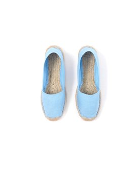 April Showers Ciel Cotton espadrilles, 29 euro