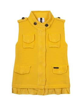 Amazing...Bark cotton waffle sleeveless Jacket , από 325 euro, 130 euro!