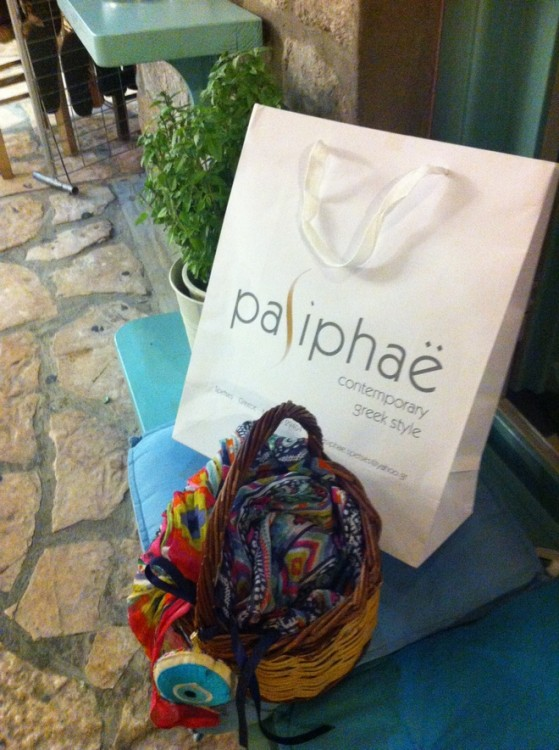 Pasiphae....Contemporary Greek Style!