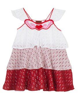 Δυστυχώς δεν βγαίνει και στο νούμερο μου...Missoni Red, White & Pink crochet Gypsy dress, από 400 euro, 200 euro...