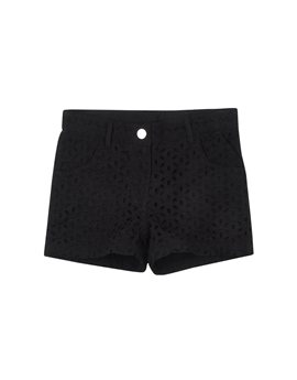IDO-black sangallo cotton shorts, 28,80 euro
