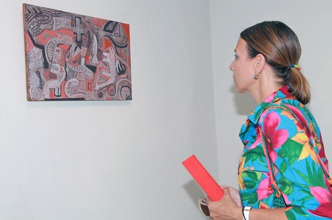"""Η Μαρία Λιναρδάκη-Μπακουνάκη μπροστά στους """"Δαίμονες"""""""