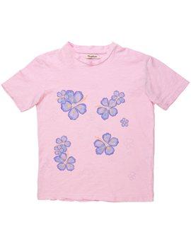 Nupkeet unisex vintage pink Hawaii t-shirt, 15 euro