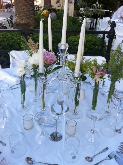 Το γαμήλιο art de la table στο Poseidonion...