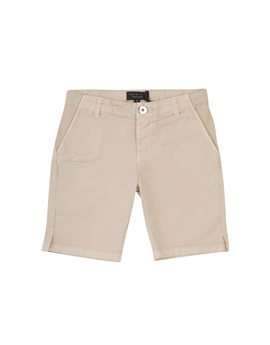 Twin-Set Girl beige cotton bermuda shorts, 54 euro