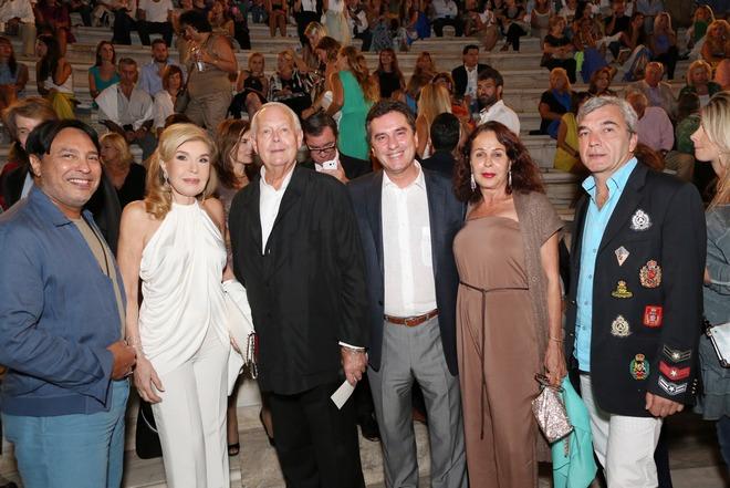 Mubarak Al Sabah, Μαριάννα Βαρδινογιάννη, Michel Anders Cavendish, Δημήτρης Παπανικολάου, πριγκίπισσα Amal, Frederic Mangin