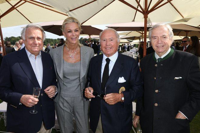 Δούκας de Noailles και Πρόεδρος του Polo de Chantily, Marue Claude de Braganca, Patrick Guerrant Hermes Xavier Guerrant