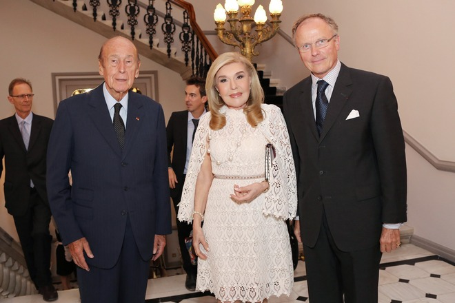 Βαλερί Ζισκάρ Ντ Εστέν, Μαριάννα Βαρδινογιάννη, Loup Kuhn-Dilforge